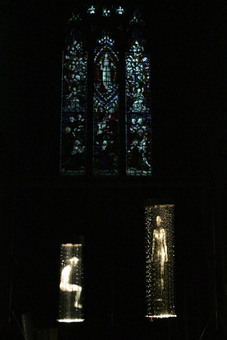 Homo Luminoso Lincoln Church Installation